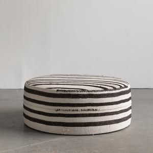 Oversized Round Ottoman Coffee Table