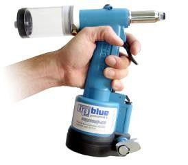 Blue Pneumatic Power Rivet Tools