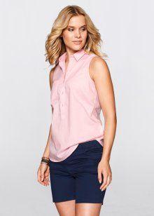 22210c37cbd1 Туника без рукавов, bpc bonprix collection, розовая пудра Sewing,  Collection, Style,