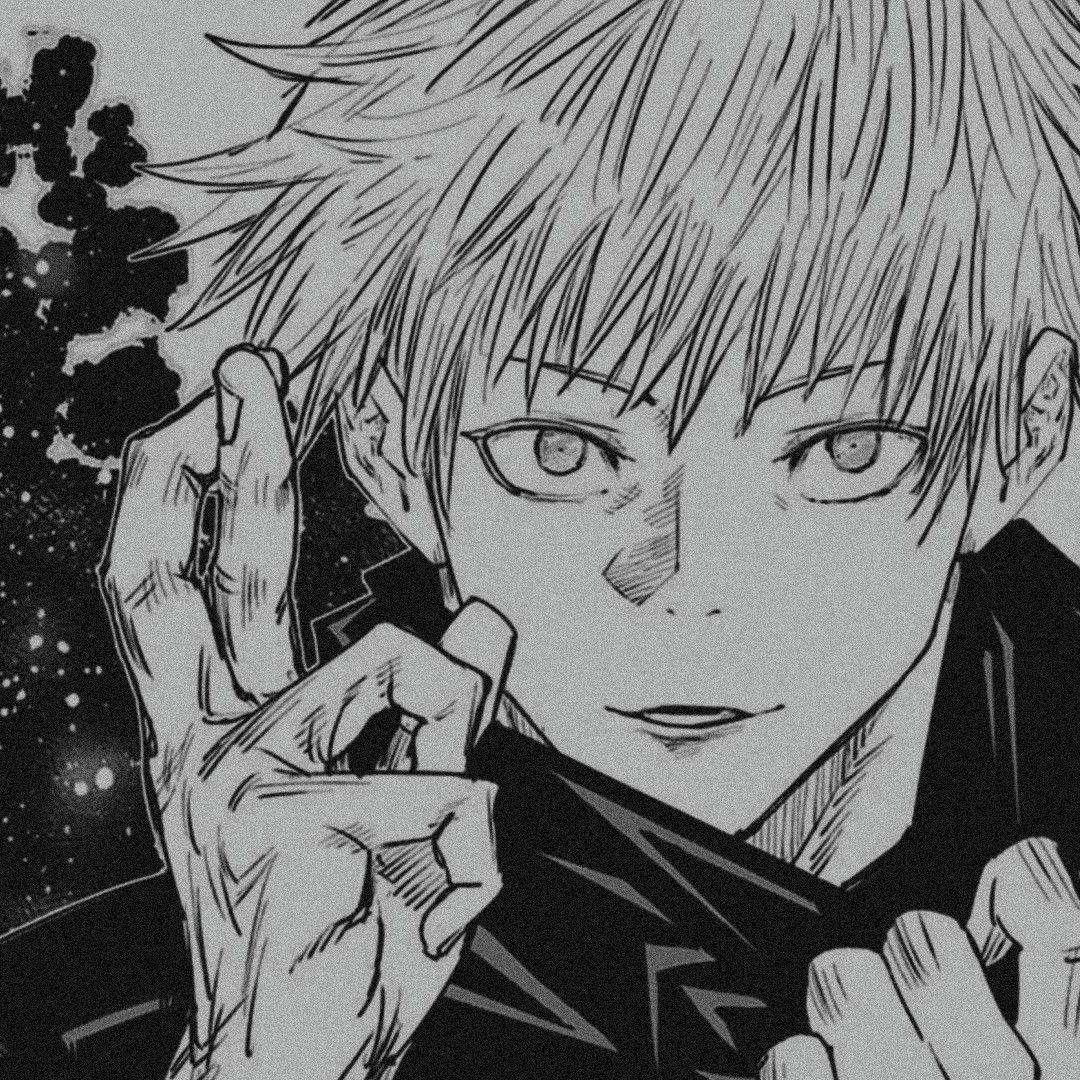 Satoru Gojo Anime Fanart Gothic Anime Fandom Drawing