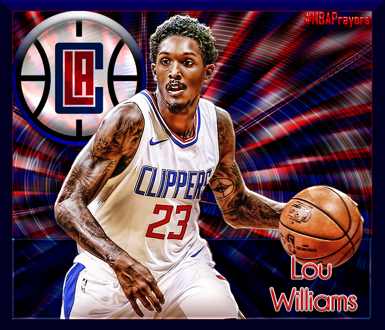 Nba Player Edit Lou Williams Lou Williams Nba Players La Clippers