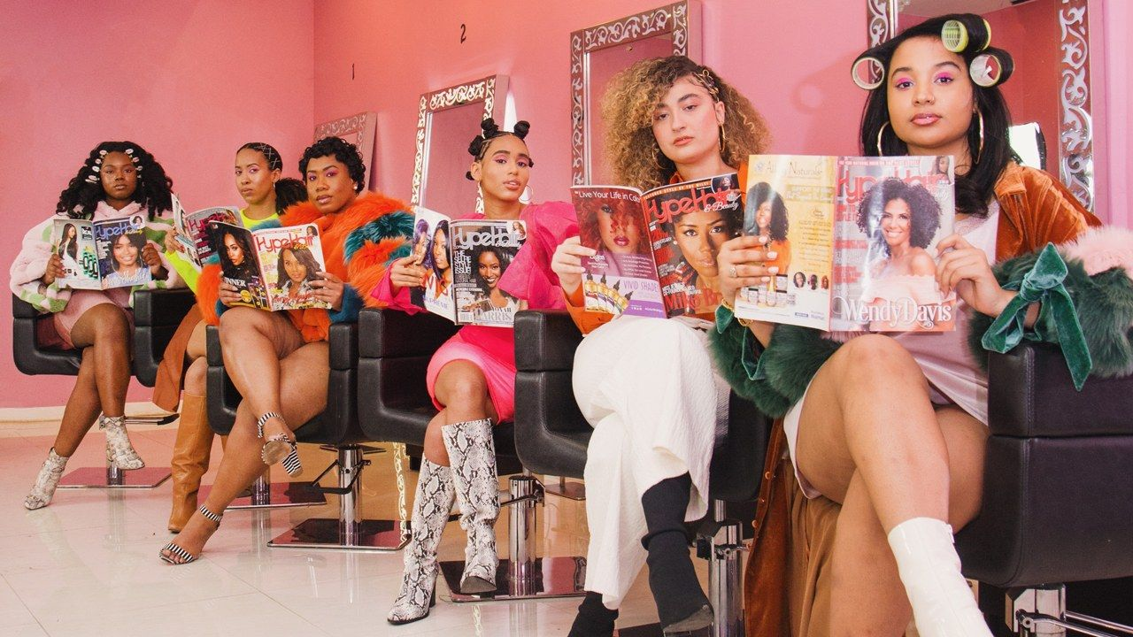 For Black Women The Hair Salon And Beauty Supply Store Are Sacred Spaces Black Hair Salons Business Photoshoot Beauty Supply Store