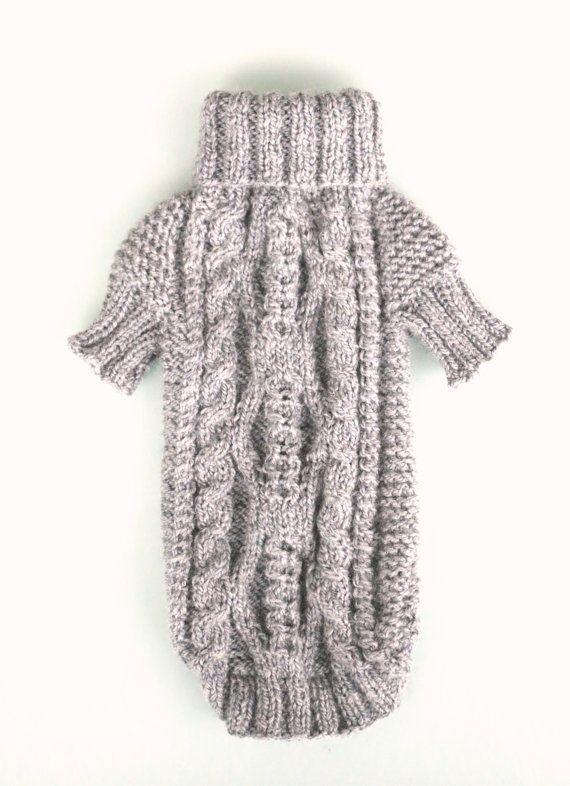 Ropa perro Tops Maltés suéter del Knit del ropa para mascotas perro ...