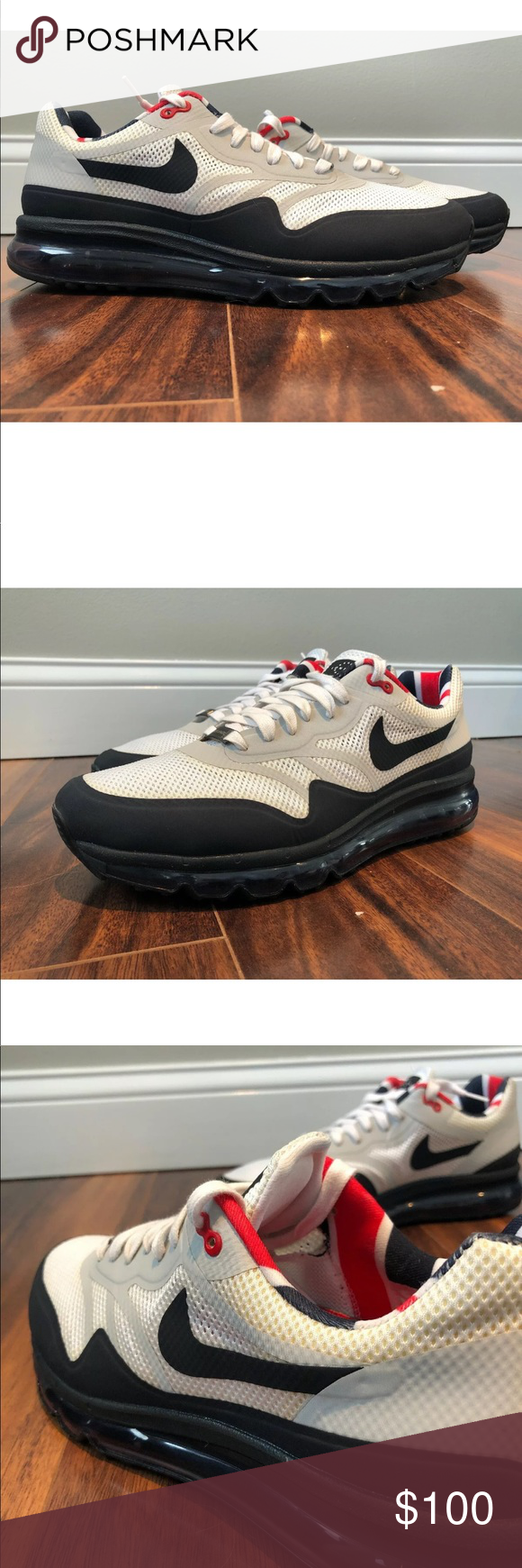 Nike Air Max 2013 London Edition WORE ONCE IKE AIR MAX 1