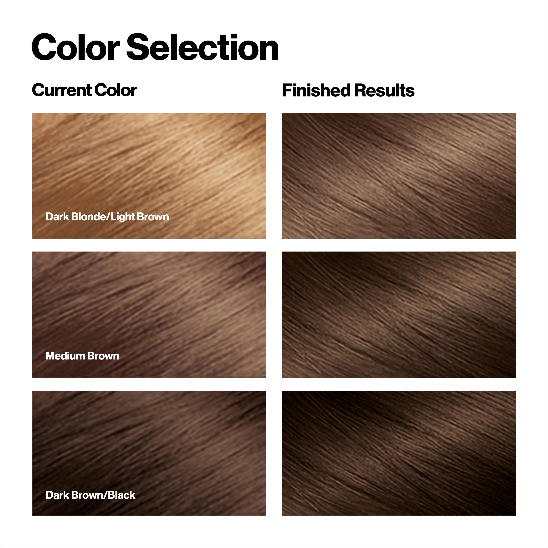 Revlon Total Color Hair Color Vegan 100 Gray Coverage Hair Dye 63 Light Golden Brown Ad Hair In 2020 Brown Hair Color Chart Grey Hair Coverage Hair Color Chart