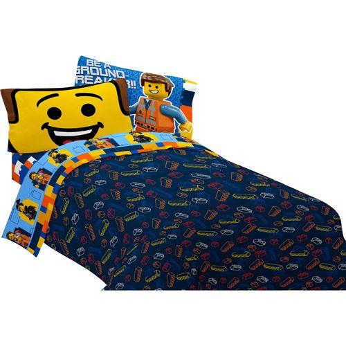 LEGO The Movie Microfiber Reversible Twin/Full Comforter   Comforter ...