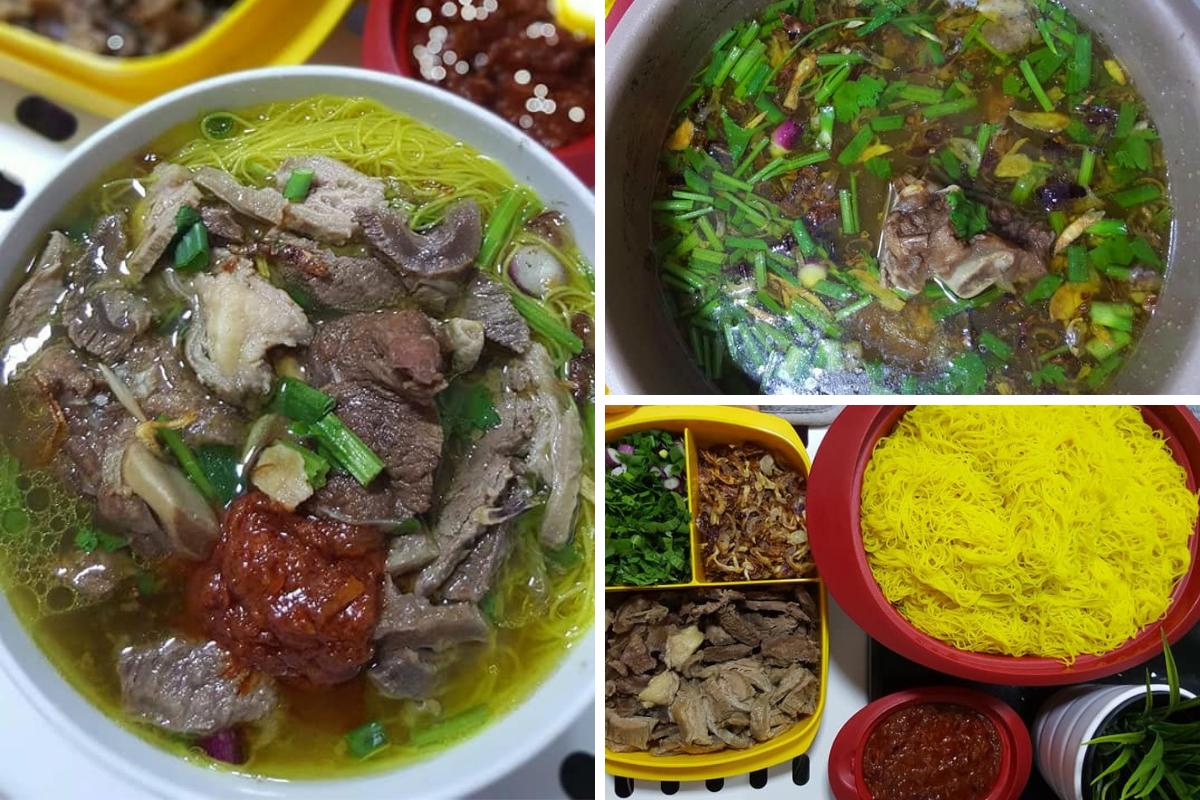 Resipi Bihun Sup Utara Original Memang Sedap Mudah Masak Rasa Sup Merah