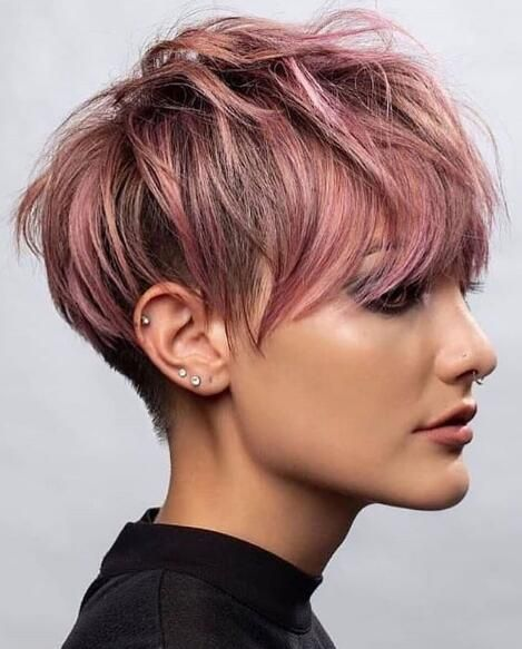 19 Cute And Fun Short Hairstyles For Stylish Women Lead Hairstyles Hair Styles Thick Hair Styles Pixie Haircut