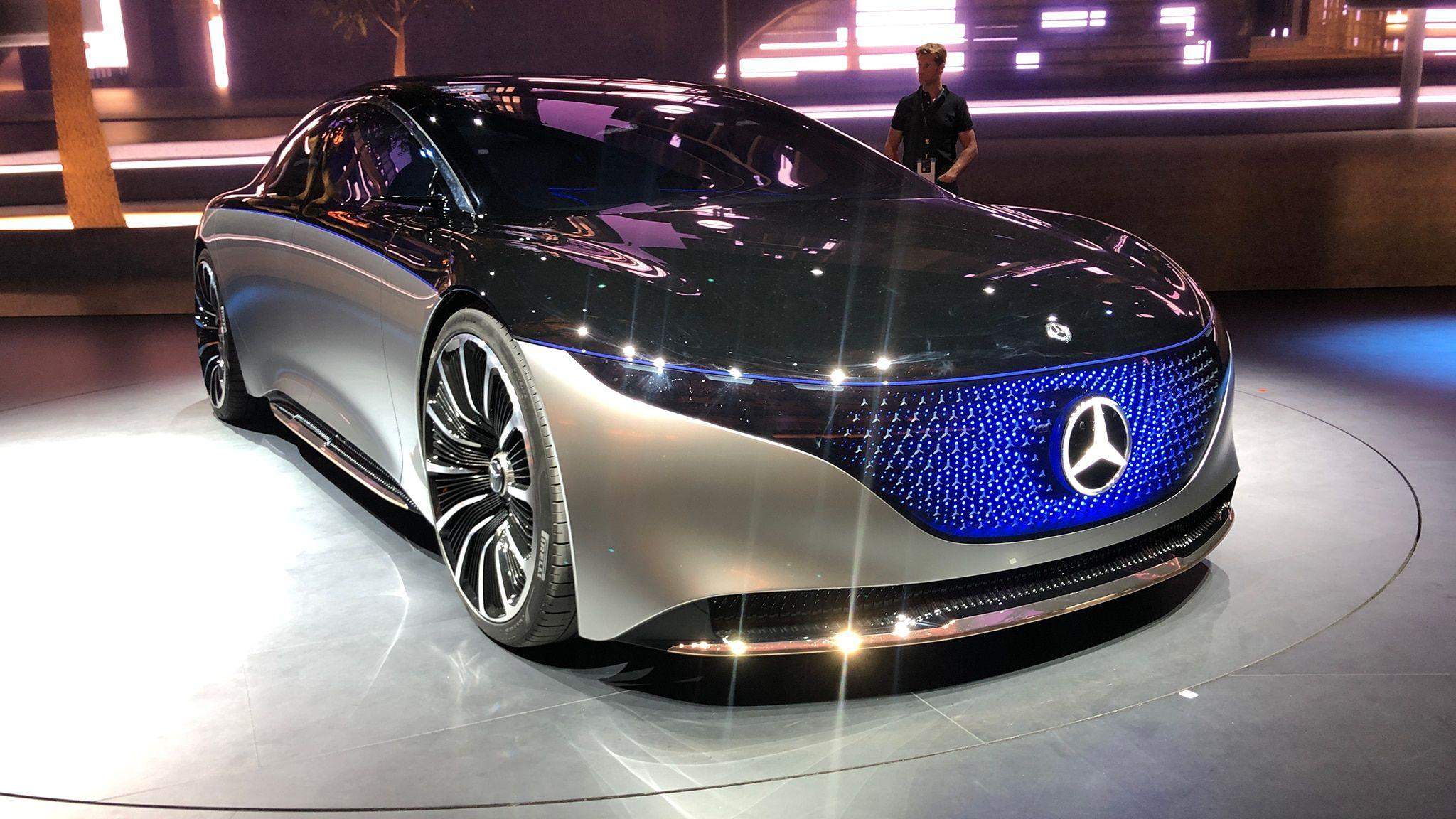 Best Cars Of The 2019 Frankfurt Auto Show Electric Cars Mercedes Car Benz
