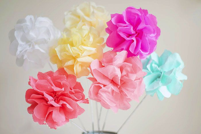 How to make crepe paper flowers crepe paper flowers tissue paper how to make crepe paper flowers mightylinksfo