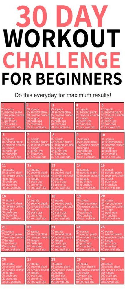 48 Ideas Fitness Workouts For Beginners Weightloss 30 Day For 2019 #fitness