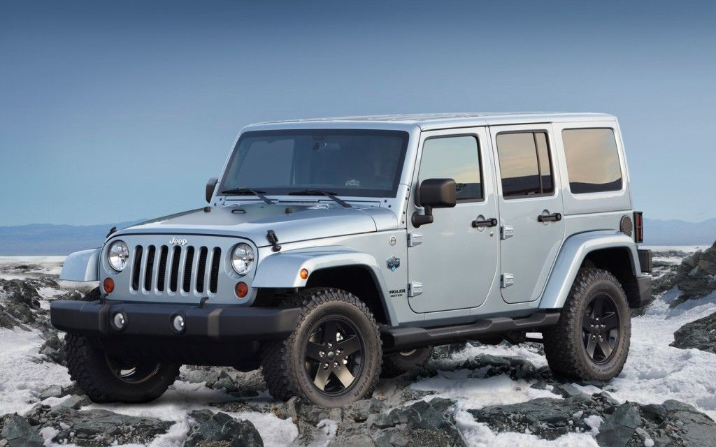 2012 Wrangler Unlimited Arctic Edition Exterior. Inside