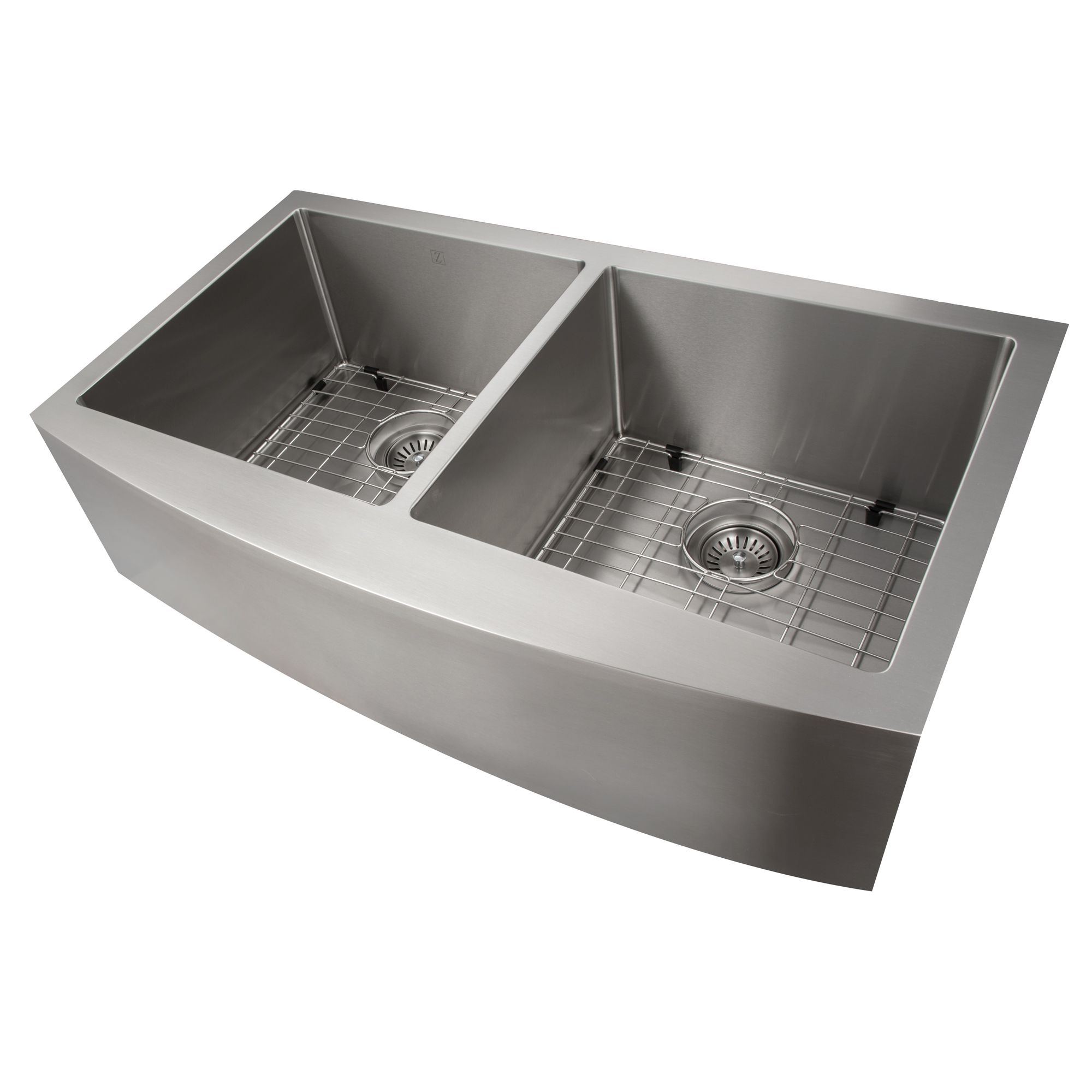 Zline Farmhouse Series 36 Inch Undermount Double Bowl Apron Sink