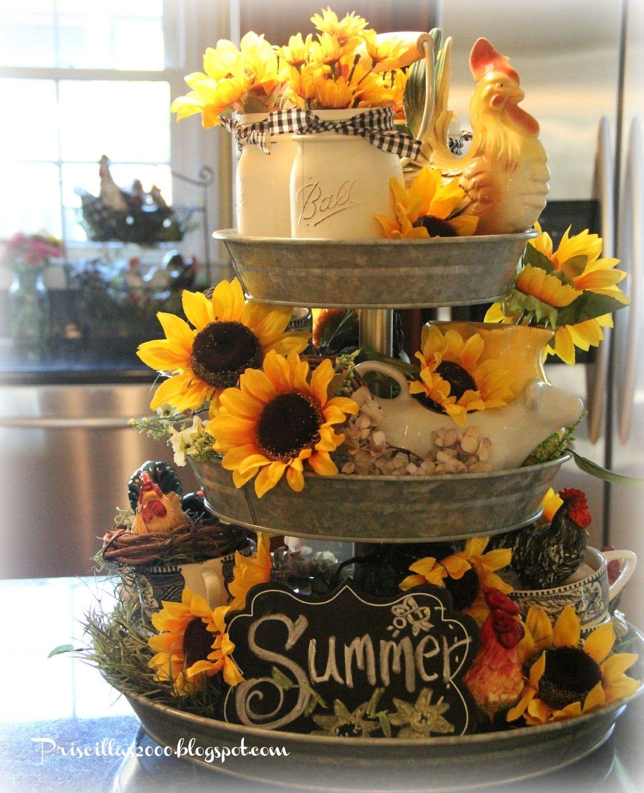 Fall decor for wedding Good morning Sunflower season is definitely here in the garden so