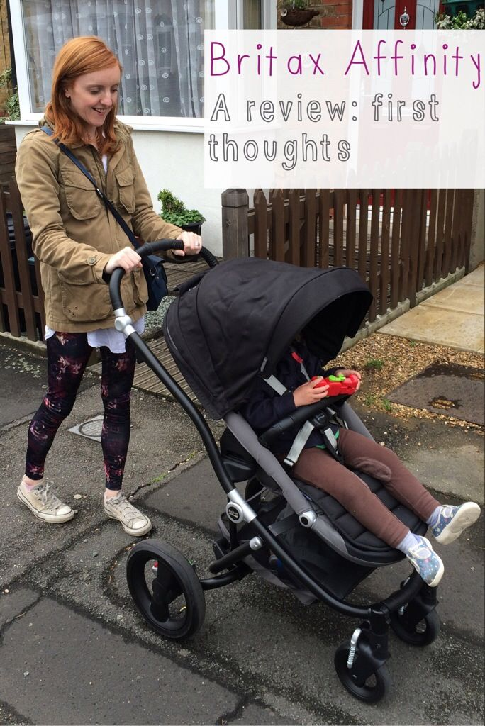 Britax Affinity review first impressions of the buggy
