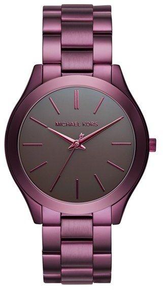 189911cec471 Women s Michael Michael Kors  Slim Runway  Bracelet Watch