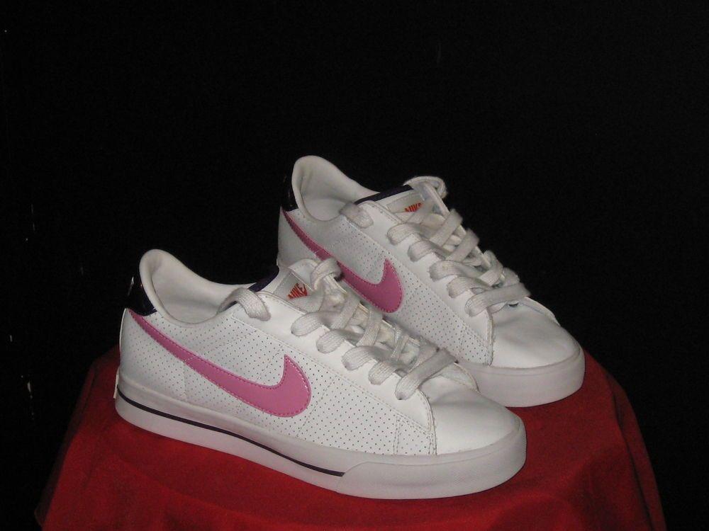 a3365dbee0d Women s Nike Sweet Classic Low BRS tennis Sz 7  shoes White Pink Blue  Nike   Tennis