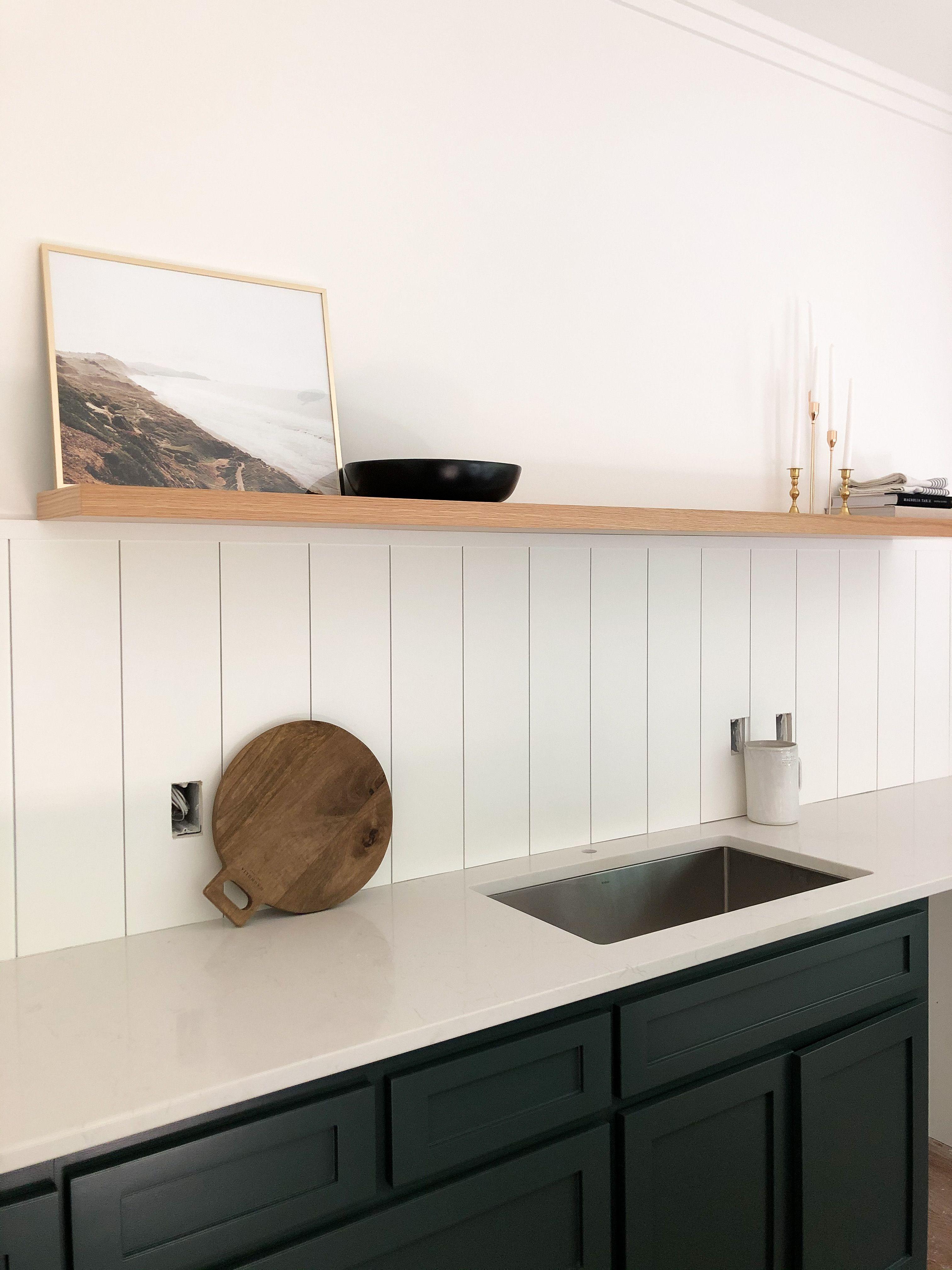 Kitchen In Progress In 2020 Shiplap Kitchen Upper Kitchen Cabinets Kitchen Nook