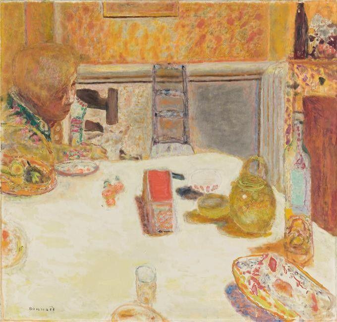 Pierre Bonnard - Salle à manger au Cannet (1932) Pierre Bonnard