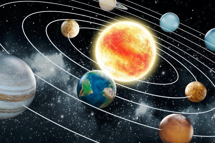 Miksi Aurinkokunta on litteä?