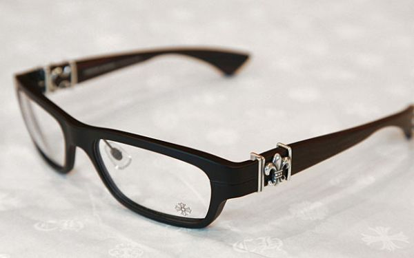 f327c0799e1 CHROME HEARTS PONTIFASS CRYS Crystal Clear Glasses Eyewear Eyeglasses Frame  Sterling Silver