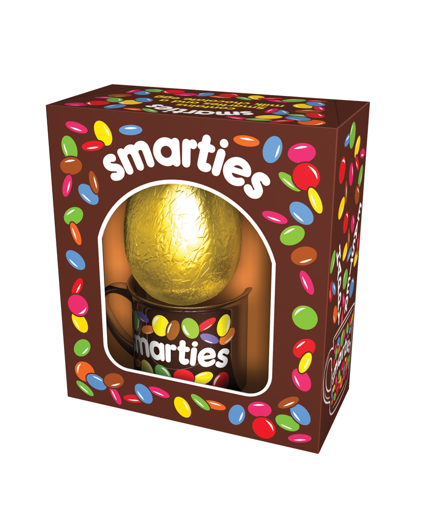 Throwback Smarties Pack Uses The Old Brown And White Branding With Retro