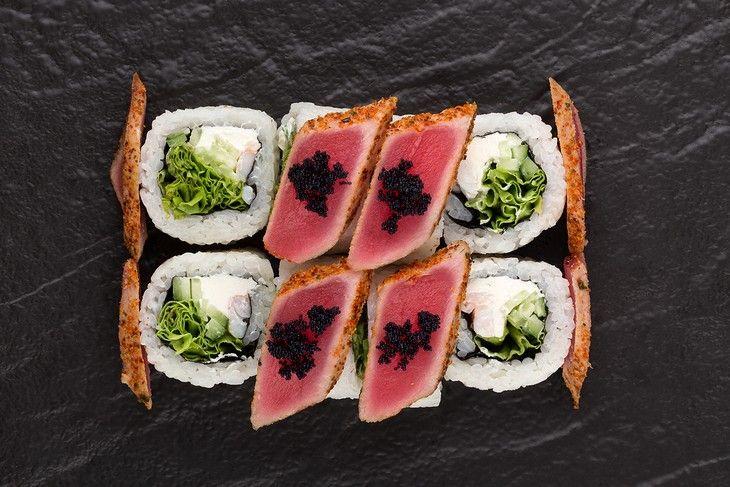 Картинки по запросу Доставка суши из ресторана Япона Хата
