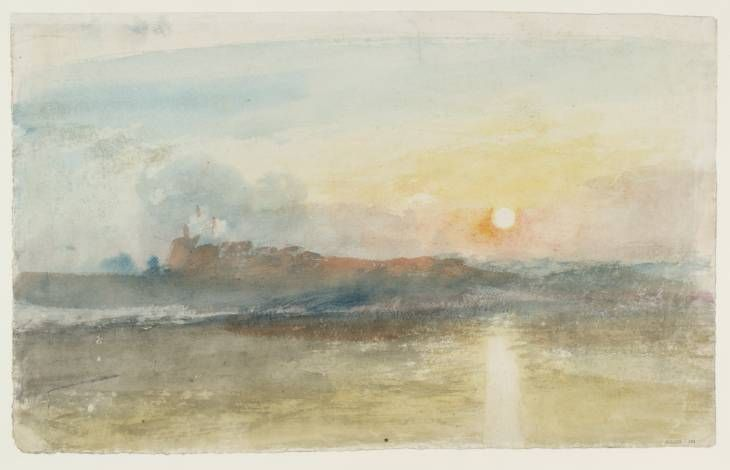 Dunstanburgh Castle Joseph Mallord William Turner C 1828