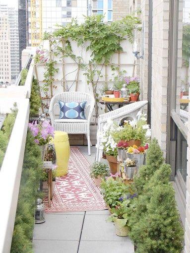 How To Improve Your Container Garden Small Balcony Garden Small