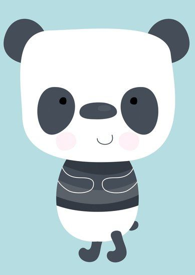 poster met #panda #kinderkamer #babykamer | dreumes enzo, Deco ideeën
