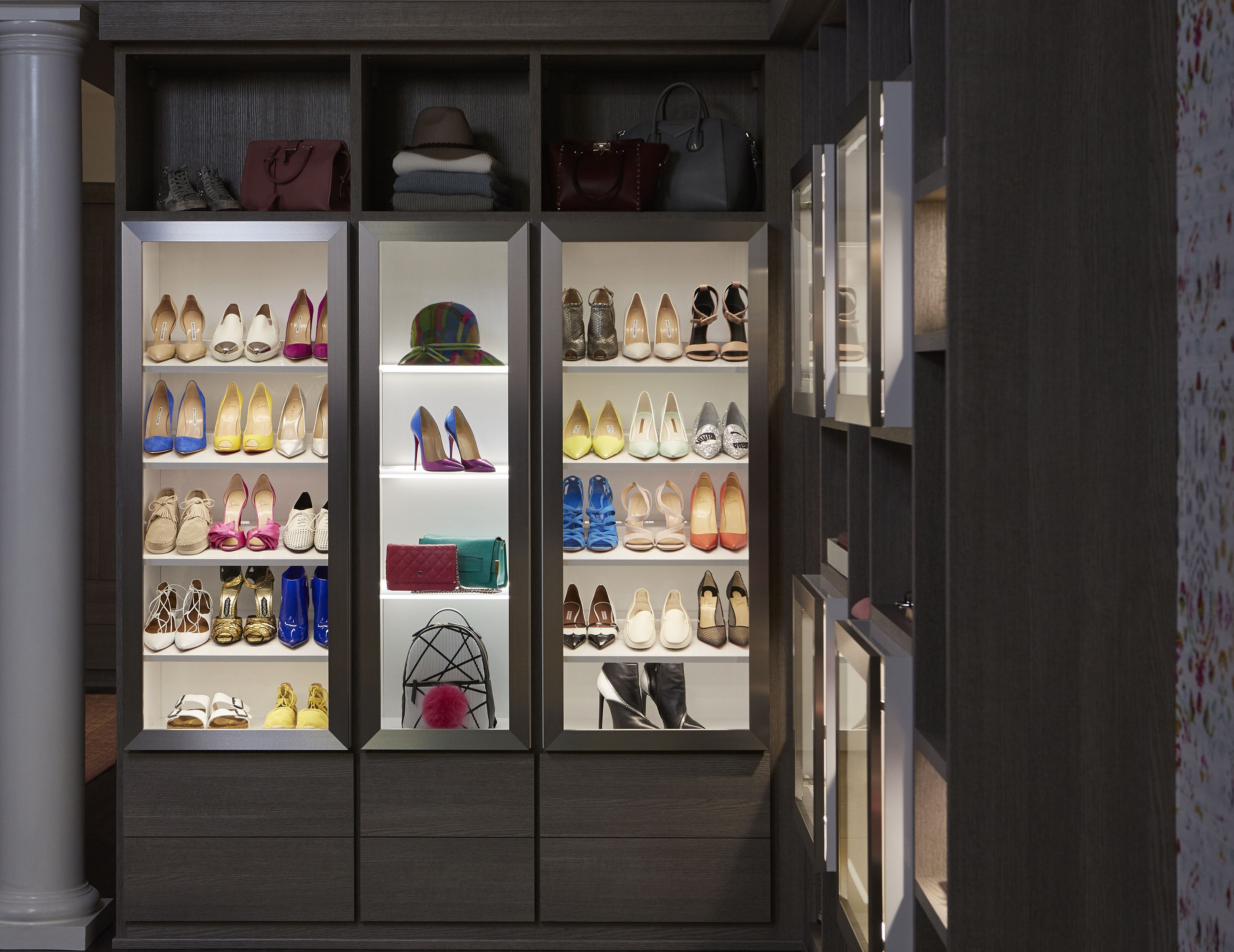 Store dresses in this type of cabinet