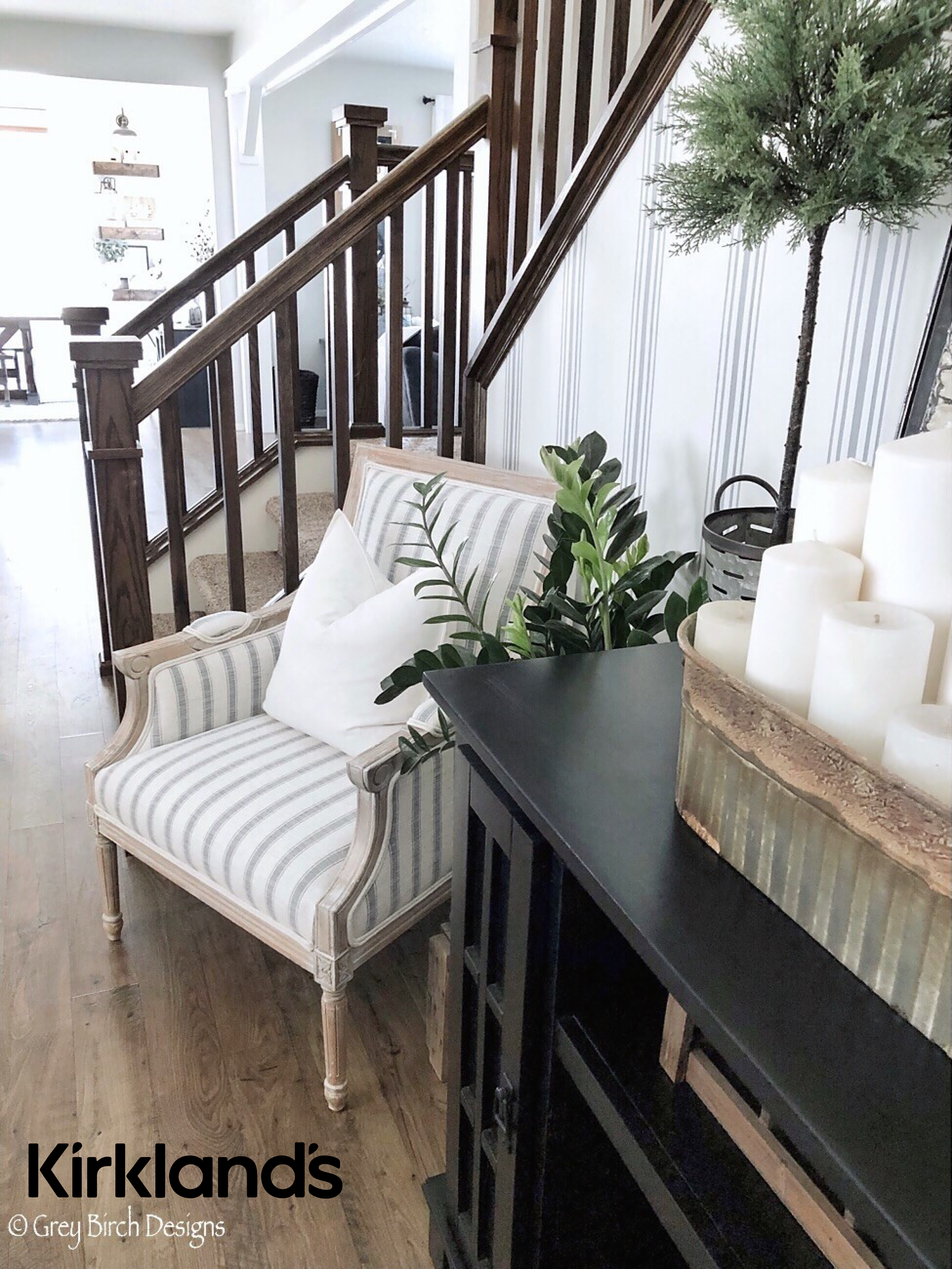 Marvelous Decorate Your Stairway With Accent Chairs And Console Tables Creativecarmelina Interior Chair Design Creativecarmelinacom