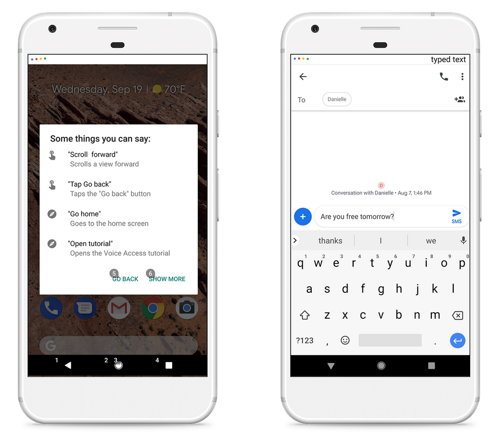 Google launches voice assistant app to help people with