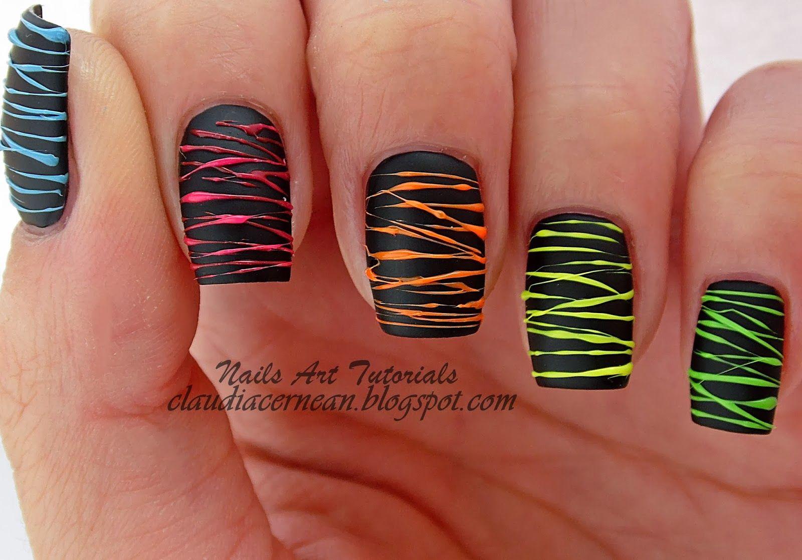 Unghii Spun Sugar Spun Sugar Nails Nails Art Tutorials Nail
