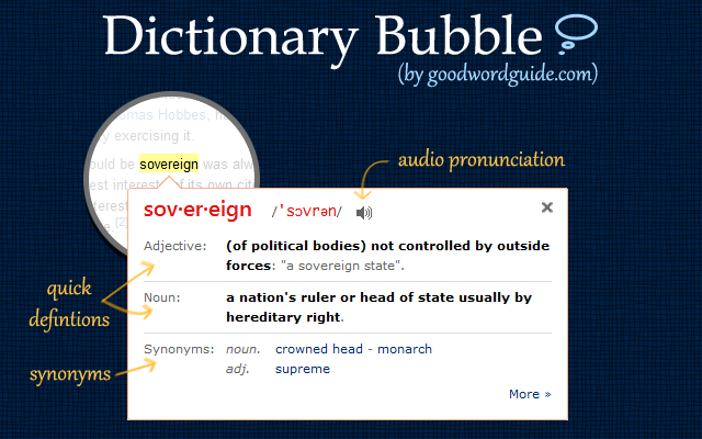 Dictionary Bubble By Goodwordguide Com Quickly View Easy To Understand Word Definitions With Audio Pronunciation And Exa Techie Teacher Ela Writing Bubbles