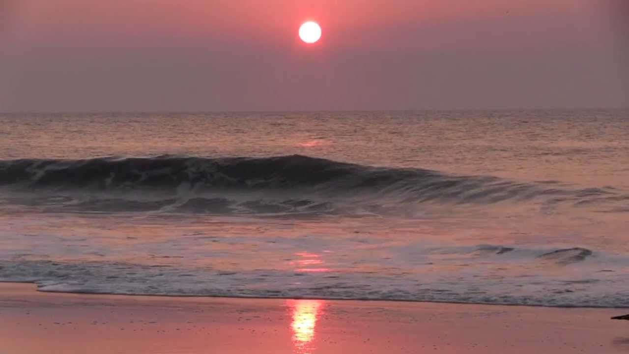 Sunrise at Ocean City MD with Uncle John's Band ☮ Grateful