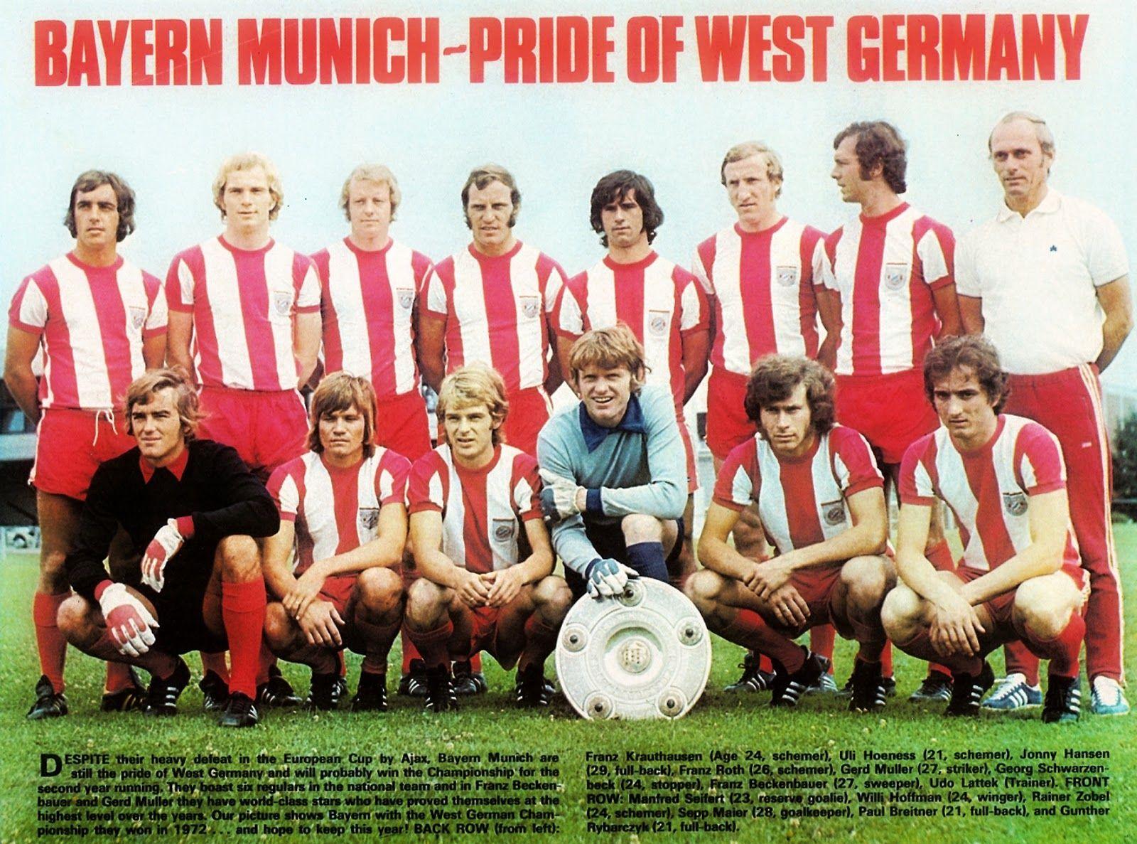 Bayern München  Mannschaftsfoto 1990-91