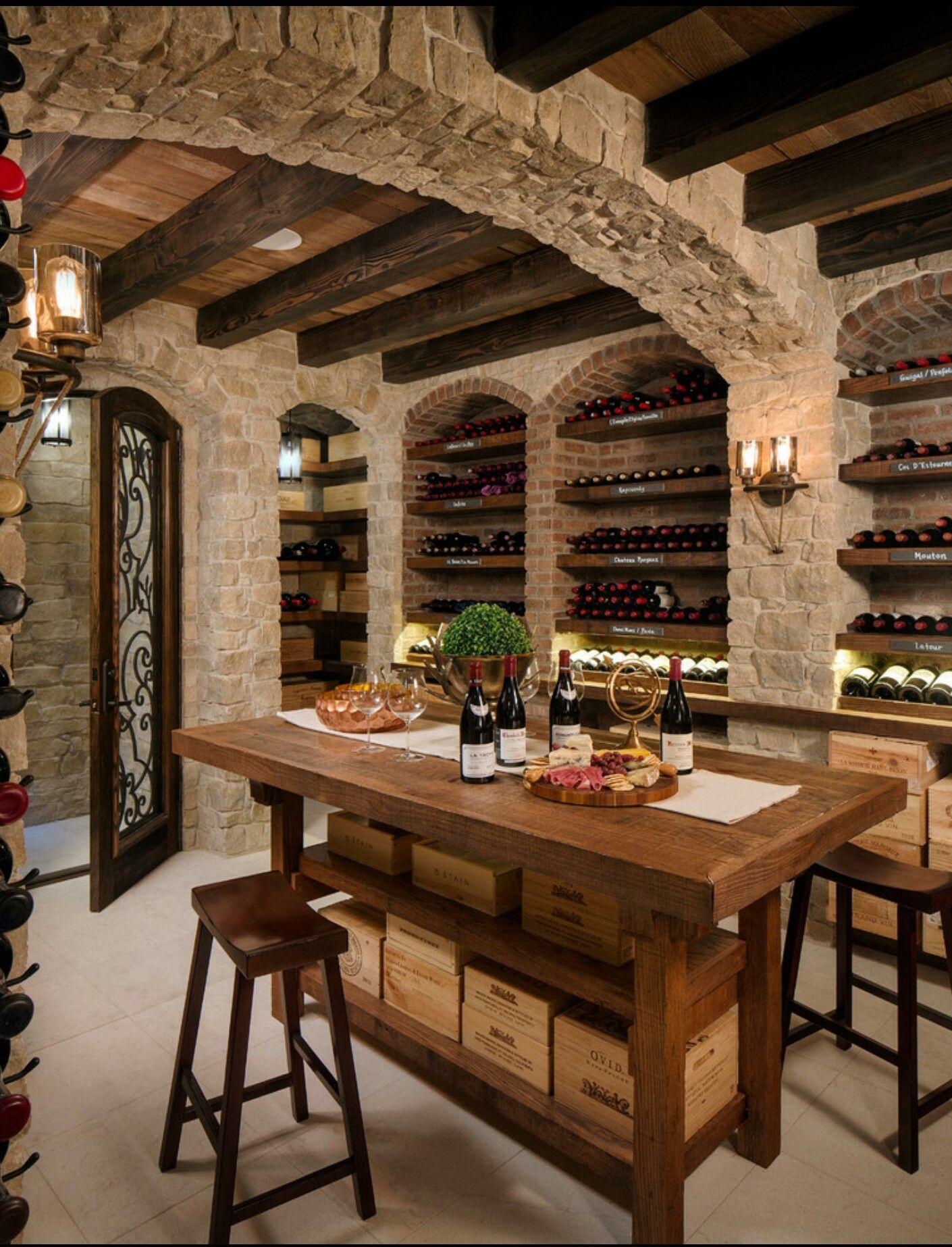 Pin by Debora Sanders on Homestyle | Pinterest | Wine cellars, Wine ...
