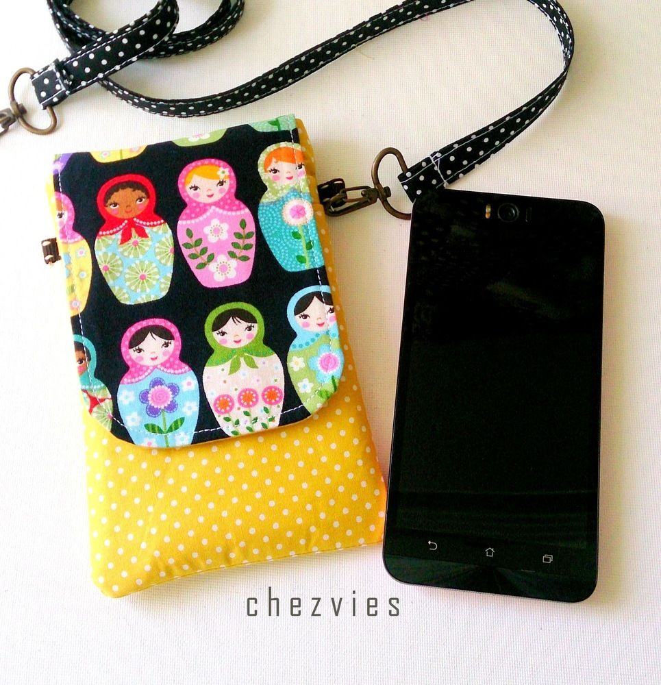 Handmade mini sling bag for Mobile Phone, Russian Doll Phone ...