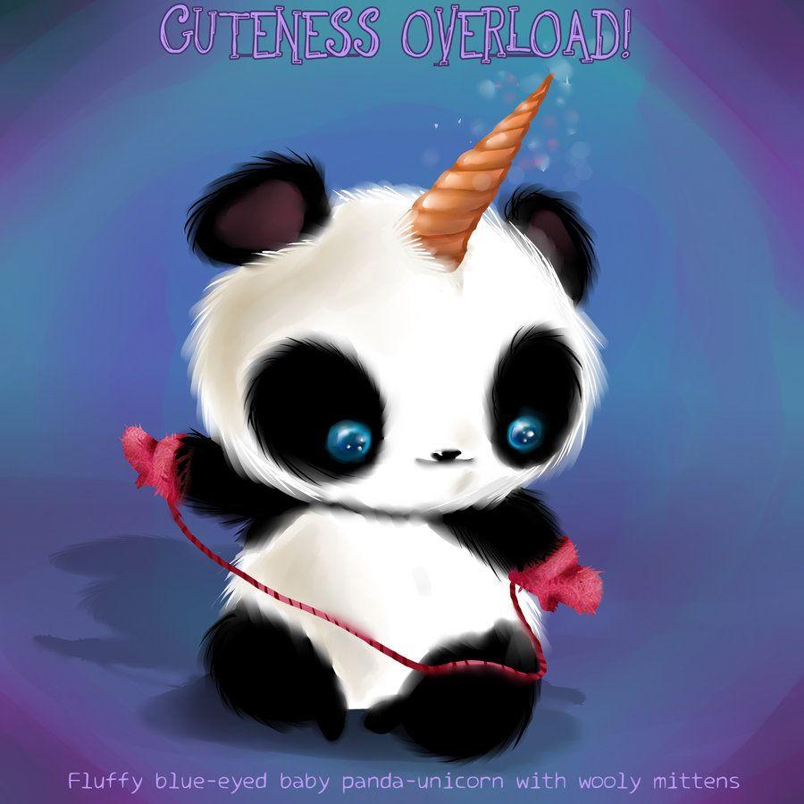 Cuteness Overload Number 1 By Jutchy On Deviantart Cute Panda Wallpaper Cute Animal Drawings Panda Artwork