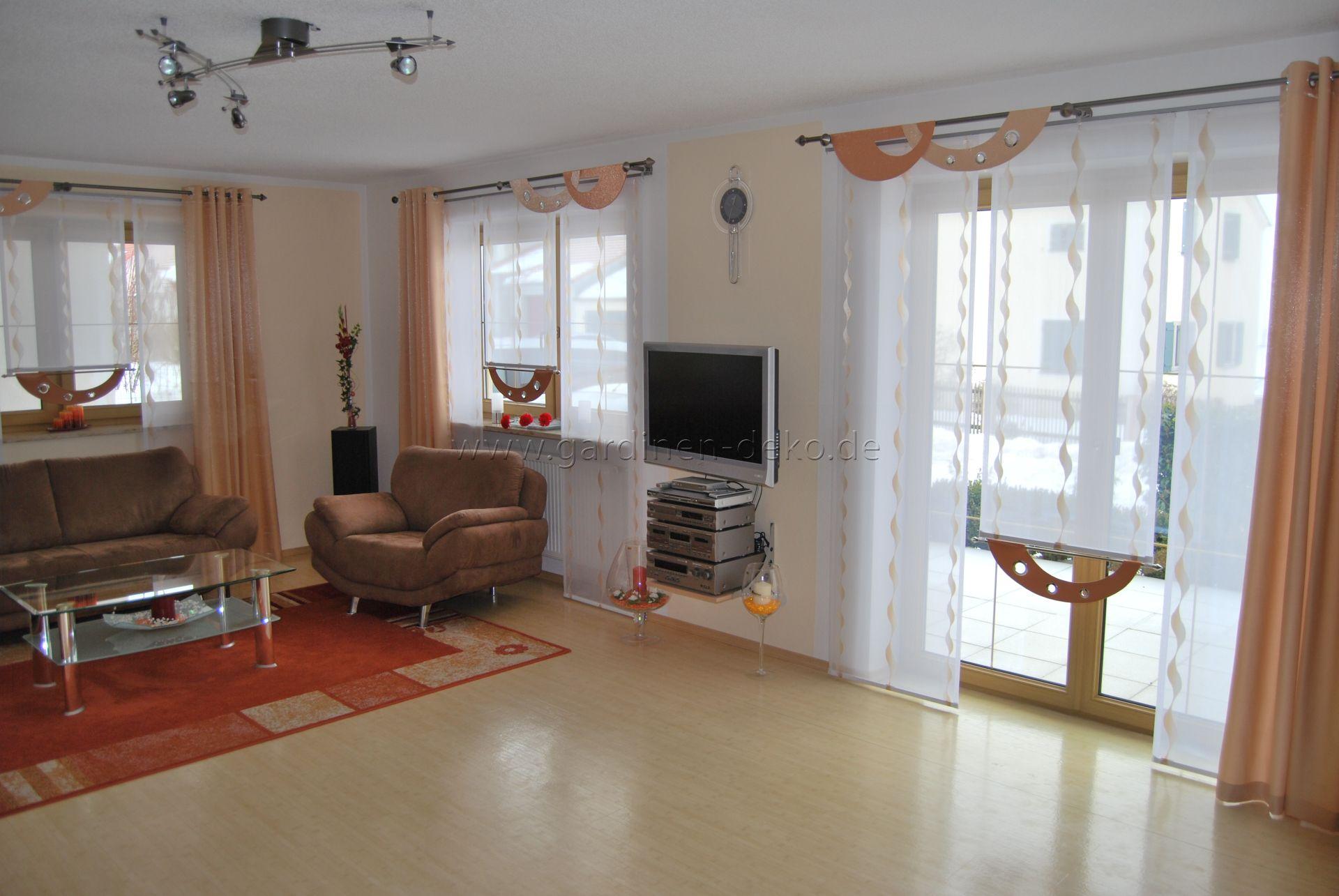 Schone Gardinen Furs Wohnzimmer Room Home Living Room