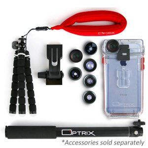 finest selection 0d5fc f4869 Optrix by Body Glove Waterproof Action Camera Case for: Amazon.co.uk ...