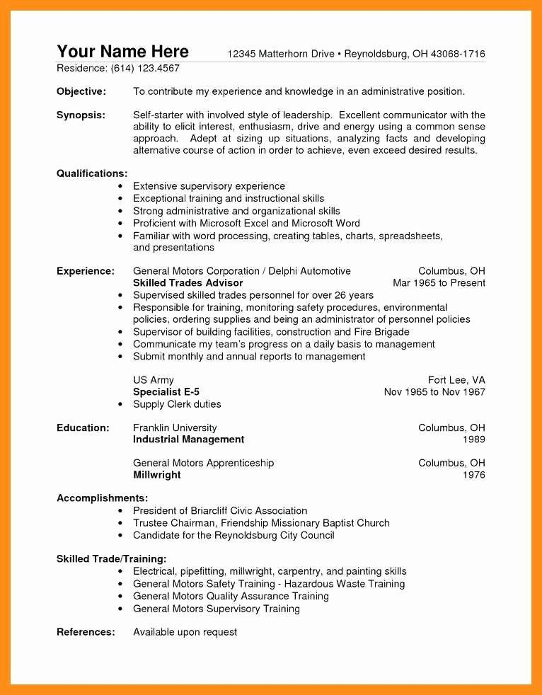 General Warehouse Worker Resume Best Of General Warehouse Resume In 2020 Job Resume Samples Resume Objective Examples Resume Skills