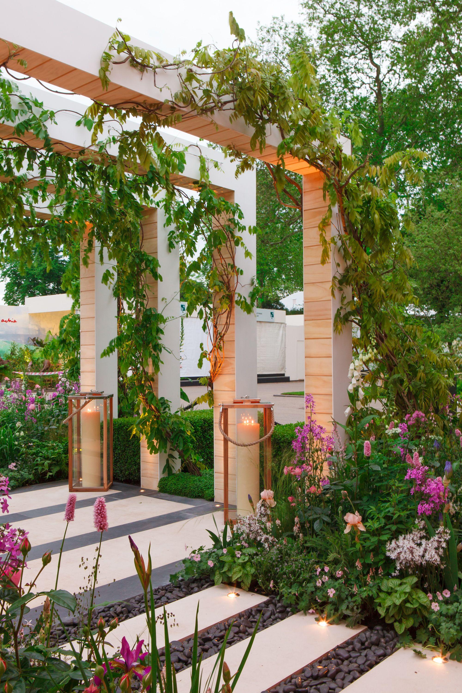 contemporary interpretation of a cottage garden style on backyard landscape architecture inspirations id=88215