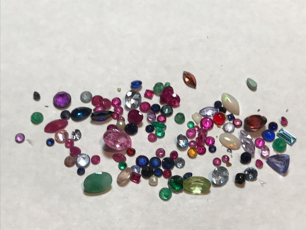 13.2 TCW  Unsorted Gemstones removed from Fine Jewelry #Unbranded