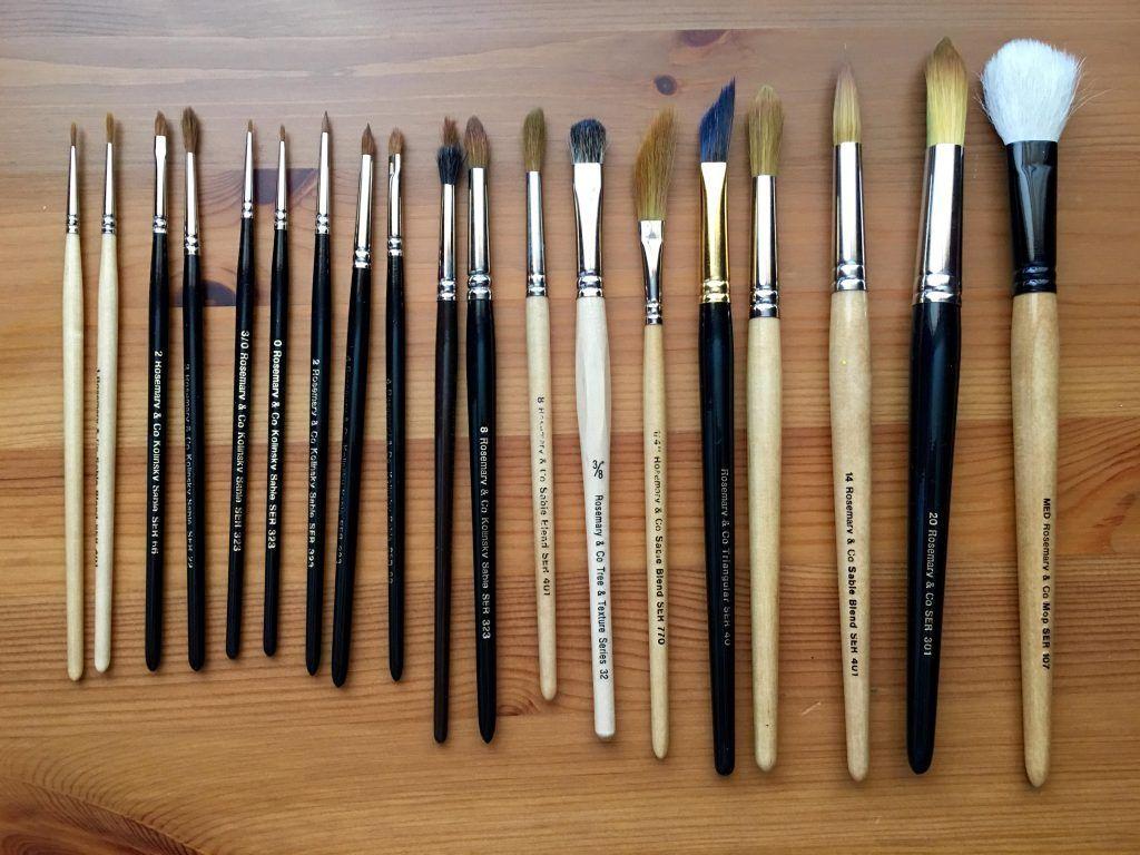 Doodlewash Review Watercolor Brushes Watercolor Brushes