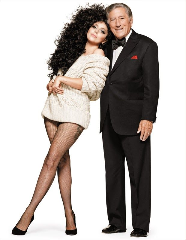 FESTIVE FEELINGS WITH LADY GAGA & TONY BENNETT FOR H&M HOLIDAY CAMPAIGN  #hm #holidaycampaign #ladygaga #tonybennett #2014 #fashion