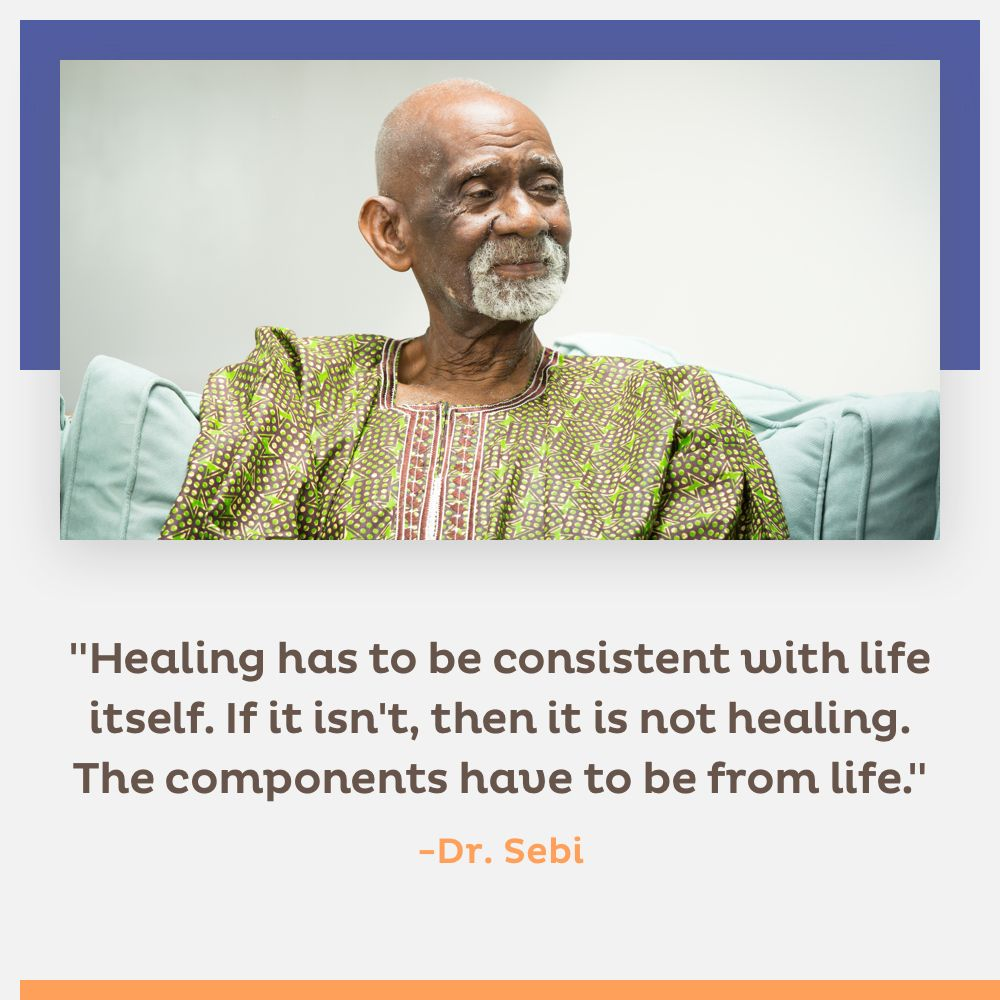 The African Bio-mineral balance in Dr  Sebi's Cell Food
