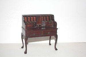 Miniature dollhouse desk high quality