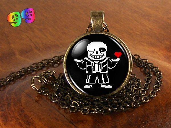 Undertale Sans (1) Gaming Necklace Chain & Pendant Charm Jewelry